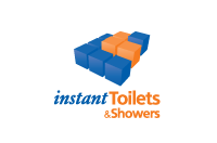 Instant toilets and showers web logo