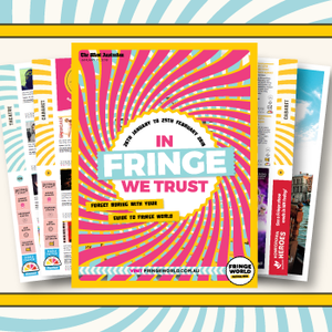 Get your free copy of The West Guide to Fringe
