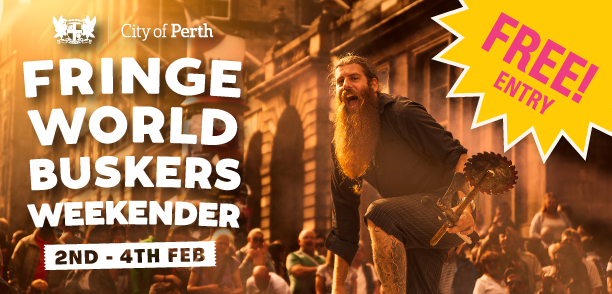 2 - 4 Feb Why you can't miss out on the Buskers Weekender