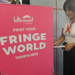 NEW to Fringe this year: print your own tickets!