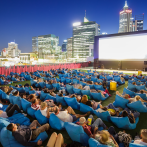 Find out what's showing at Rooftop Movies!