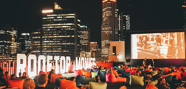 Friends get discounted tickets to Rooftop Movies!