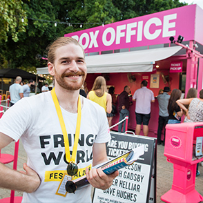 Check out the latest job opportunities with Fringe
