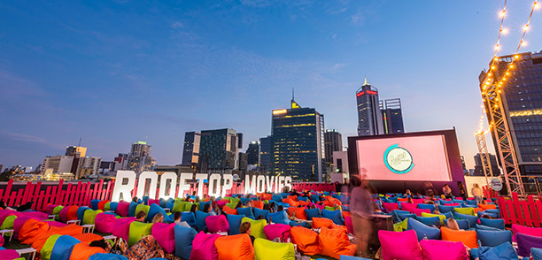 Tickets on sale now for Rooftop Movies