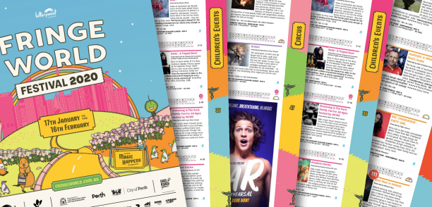 Order your free copy of the Festival Guide