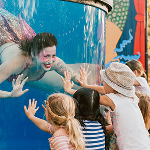 School Holidays are sorted with Fringe Kids! at The Woodside Pleasure Garden