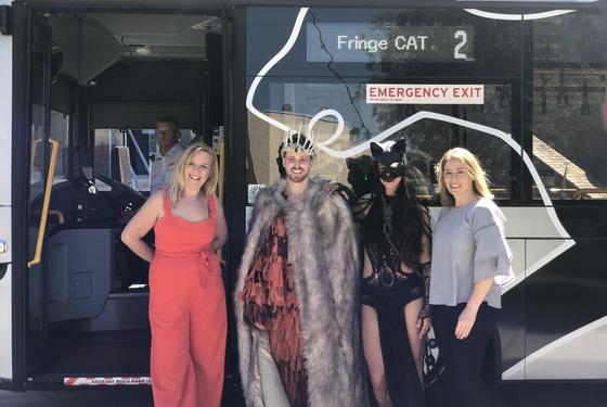 The Fringe CAT is back!