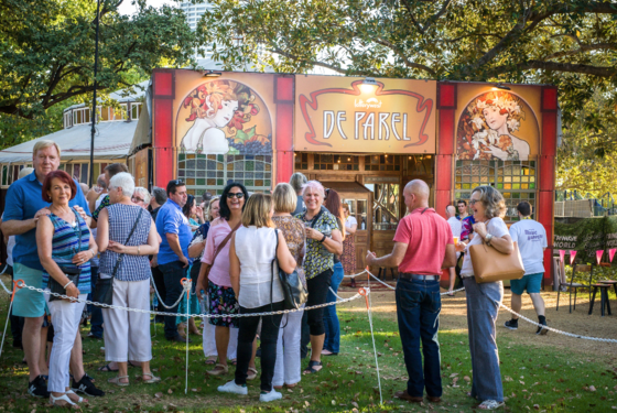 10 years of The Lotterywest De Parel Spiegeltent
